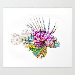 When I Dream of Lionfish Art Print