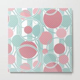 Dot designs . Metal Print