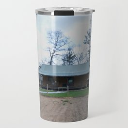 barn and garden Travel Mug