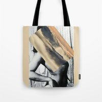mother Tote Bags featuring Mother by Erin Case