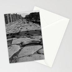 Cobblestones of Pompei Stationery Cards