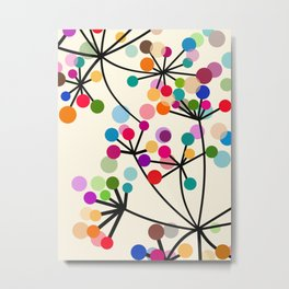 Florid Tree Metal Print