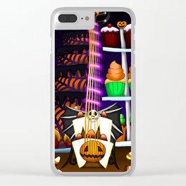 Fusion Keyblade Guitar #114 - Pumpkinhead & Sweet Dream Clear iPhone Case