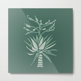 Mountain Agave Metal Print