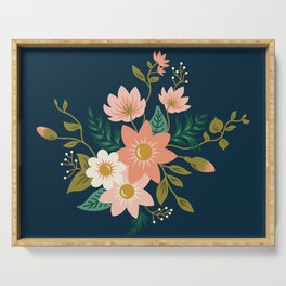 Spring flowers Serving Tray