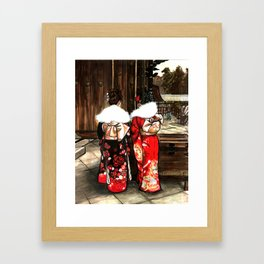 Todaiji (東大寺) Framed Art Print