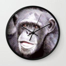 extraordinary animals -Chimp Wall Clock