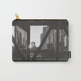 Downtown Sunset - Chicago Photography Carry-All Pouch