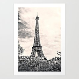 Another Eiffel Tower Photo Art Print