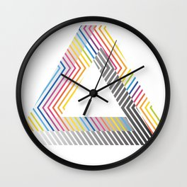 Abstract Penrose Wall Clock