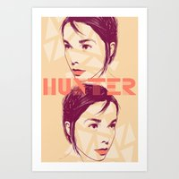 bjork Art Prints featuring Bjork by Isabel Arenas