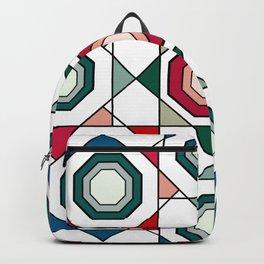 Tile mandala Backpack