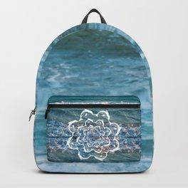 white dolphins' gyre Backpack
