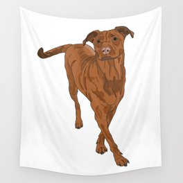Dog Portrait 2 Wall Tapestry