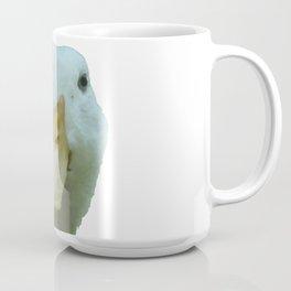 Peeking Duck Vector Coffee Mug