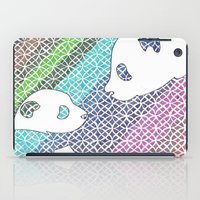 pandas iPad Cases featuring colourful pandas  by smurfmonster