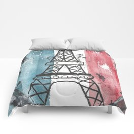 Paris Love Comforters