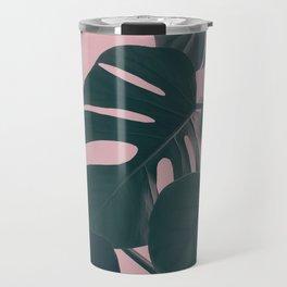 Romantic Monstera Travel Mug