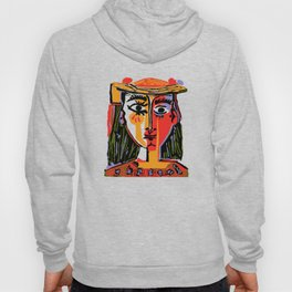 Picasso - Woman's head #4b Hoody