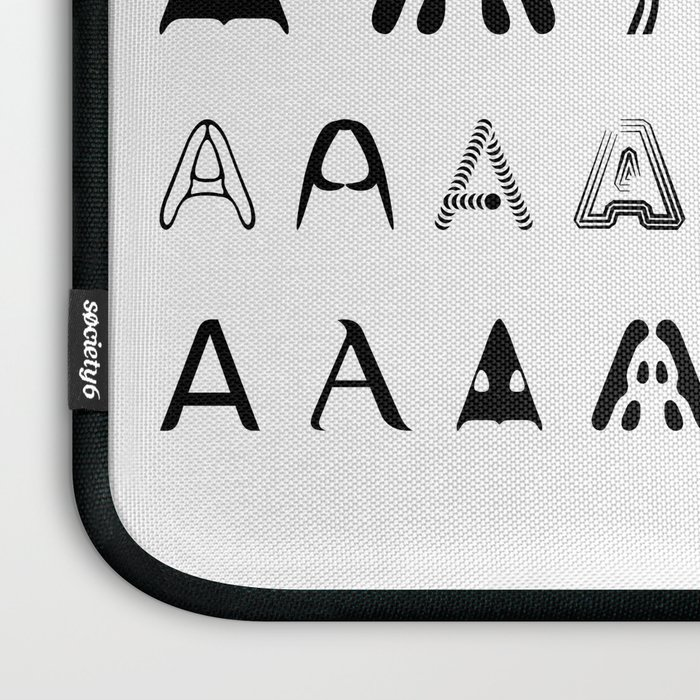 A is the first letter Laptop Sleeve