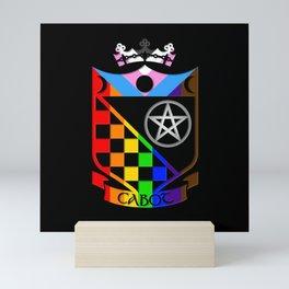 Cabot LGBTQIA+ Pride Mini Art Print
