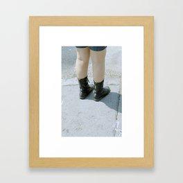 Teen Girls  Framed Art Print