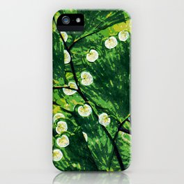 Tree With the Lights iPhone Case