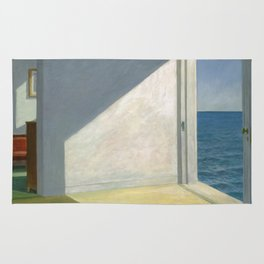 Rooms By The Sea Edward Hopper Painting Rug