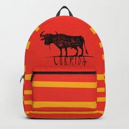 bullfighting corrida Backpack