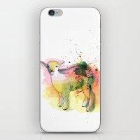 sheep iPhone & iPod Skins featuring Sheep by Barbara_Baumann_Illustration