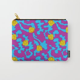Rubber ducks on purple Carry-All Pouch