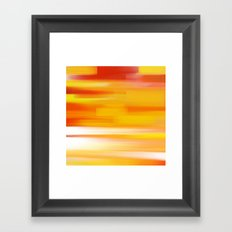 Evening Sea Framed Art Print