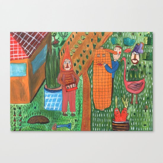 Garden. Canvas Print