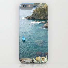 Riomaggiore, Cinque terre, Italy iPhone Case