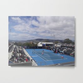Hobart International 2014. WTA Tournament  Metal Print
