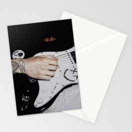 Louis Tomlinson guitar Stationery Cards