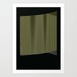 A story about population in cities Art Print