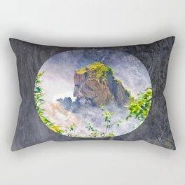 Rock in the falls Rectangular Pillow