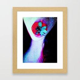 sacrifice of  disruption Framed Art Print