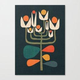 Retro botany Canvas Print