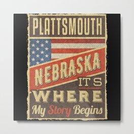 Plattsmouth Nebraska Metal Print