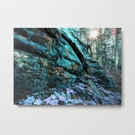 Enchanted Forest Wall Metal Print