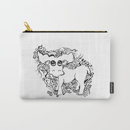 Moose Lineart Carry-All Pouch