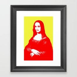 Monalisa Jolie Framed Art Print