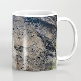 Thin Waterfall Cascading in the Rainforest of the Chocoyero-El Brujo Nature Reserve in Nicaragua Coffee Mug