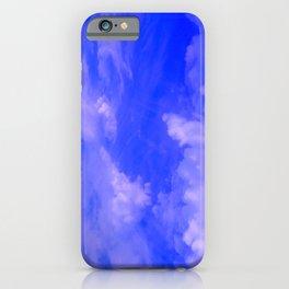 Aerial Blue Hues III iPhone Case