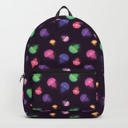 Rainbow Jellyfish Pattern Backpack