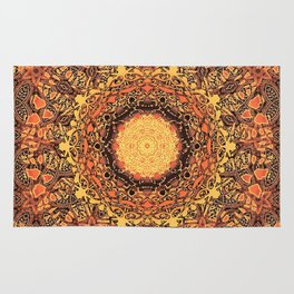 Marigold Mandala Rug