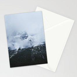 Mountains and Fog | Jasper Skywalk | By Magda Opoka Stationery Cards