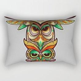 Owl totem - Rectangular Pillow